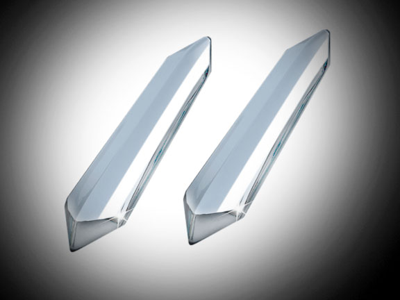 Goldwing GL1833 Chrome Windshield Strut Covers