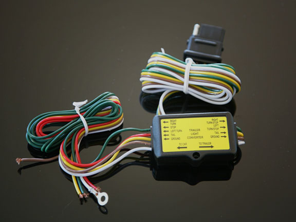 To trailer wire converter