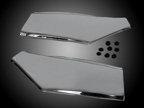Left /& Right Rear Raw Unfinished Side Covers Panels Compatible with Honda GL 1500 Goldwing
