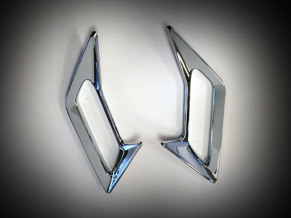 Goldwing GL1833 Goldstrike Front Fender Vent Trims