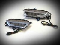 Goldwing GL1833 LED Mirror Lights with DRL and Sequential Turn Signals