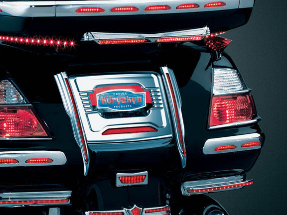 Goldwing Gl1800 License Plate Trim Panel