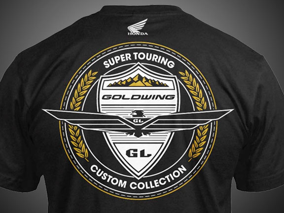 goldwing t shirt custom collection