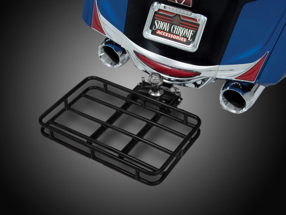 Motorcycle Trailer Hitch Rack