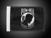 POW MIA Motorcycle Flag