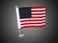 Stainless Steel Flag Mount for Square Luggage Rack