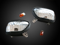 Goldwing GL1800 F6B Clear Turnsignal Mirror Lights