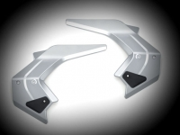 Goldwing GL1833 Chrome Frame Covers with Black Inserts