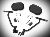 Goldwing Tour Passenger Armrests - Black