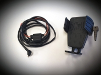 Cybercharger Goldwing Driver Phone Holder with Wireless Charger