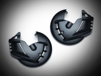 Goldwing GL1800 F6B Black Front Rotor Cover Set