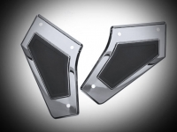 Goldwing GL1833 Chrome Swingarm Covers with Scuff Pads