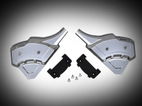 Goldwing GL1833 Vented Caliper Covers - Chrome