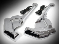 Goldwing GL1833 Front Caliper Covers with LED Lights - Chrome