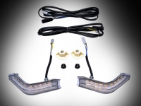 Goldwing GL1833 Cowl Lights with DRL and Sequential LED Turn Signals - Chrome