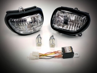 Goldwing GL1800 F6B Turn Signal Dual SwitchBack LED Light Kit