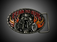 Fear No Evil Belt Buckle